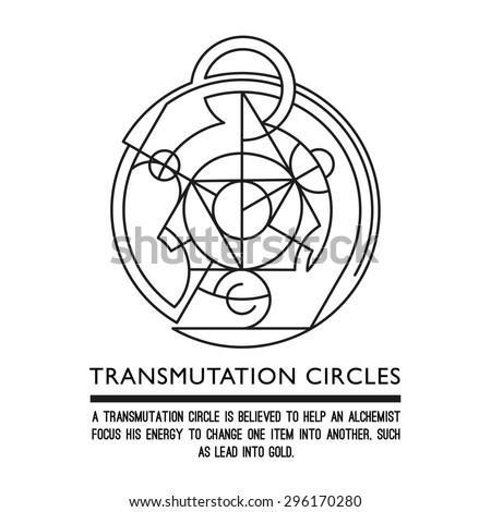 Alchemy Symbol Concentration Clipart Library