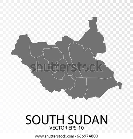 South sudan map stock images royalty free images vectors transparent grey map of south sudan vector eps 10 gumiabroncs Gallery