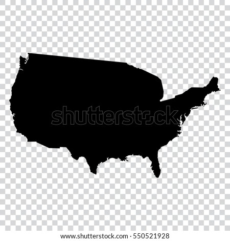 Usa Map Transparent Background Stock Images RoyaltyFree Images - Us map eps