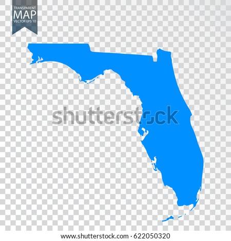 Florida Map Stock Images RoyaltyFree Images Vectors Shutterstock - Detailed map of florida