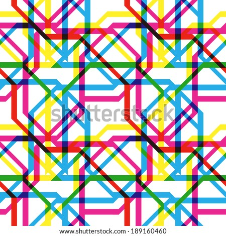 Transparent lines trend pattern - stock vector