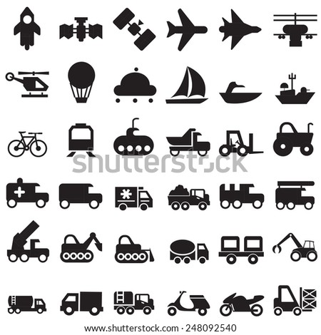 transport - stock vector