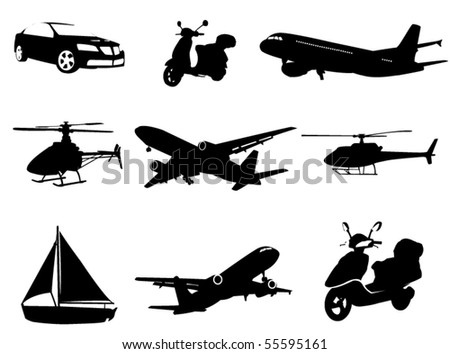 Transport - stock vector