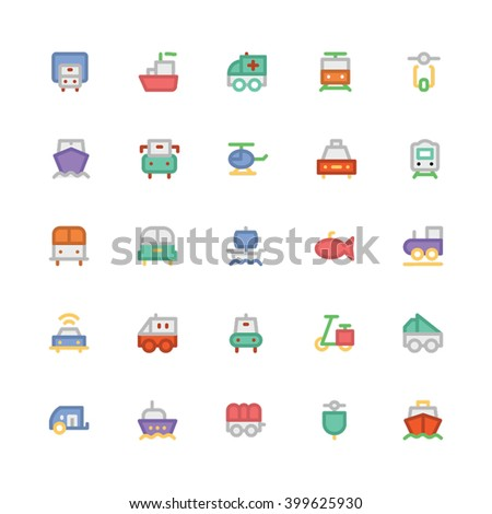 Transport vector icon  - stock vector