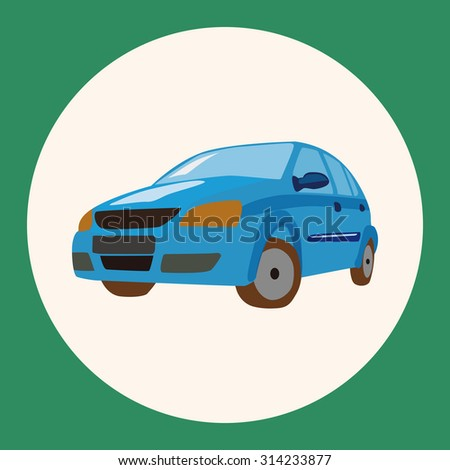 transportation car theme elements vector,eps