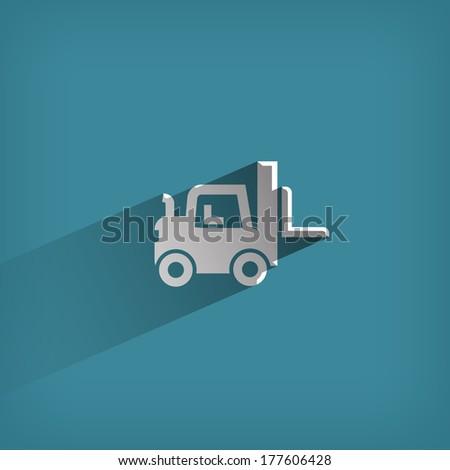 Transportation. Vector format - stock vector