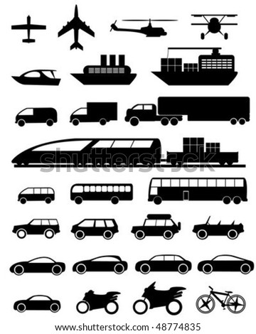 Transports Icon - stock vector