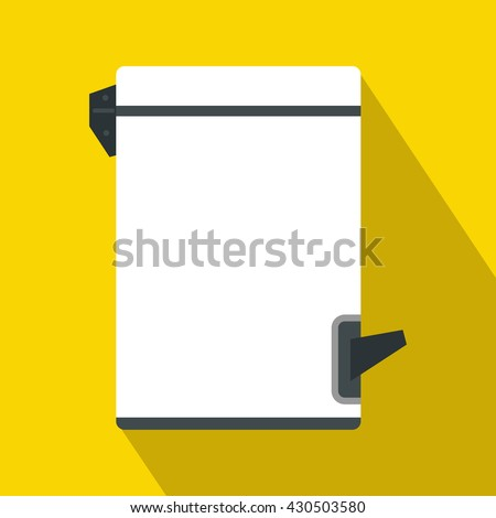 Trash bin icon - stock vector
