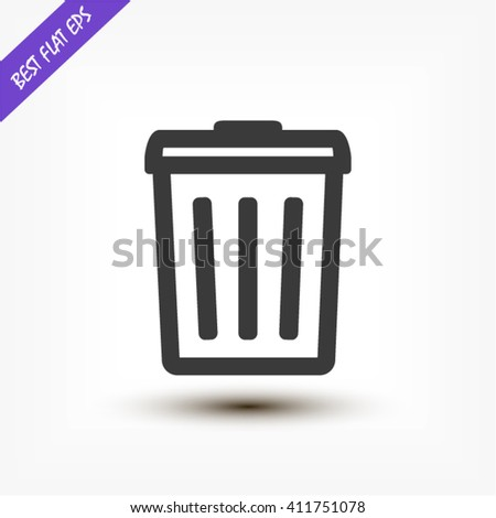 trash can icon stock images royaltyfree images amp vectors