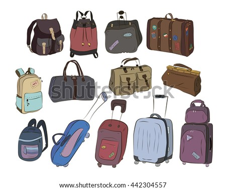 Travel Bags Set
