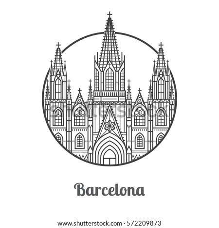 Image Result For Map Of Tourist Attractions In Barcelona