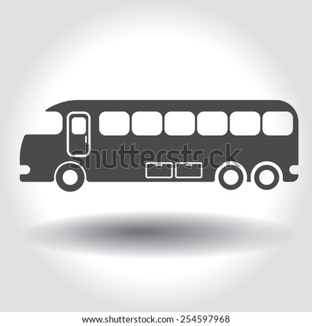 Travels Bus Images Travel Bus Icon Stock Vector