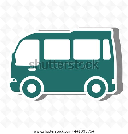 travel by bus design, vector illustration eps10 graphic