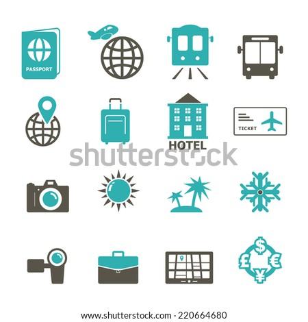 Travel Icon - stock vector