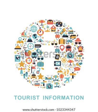 Travel icons are grouped in Information form