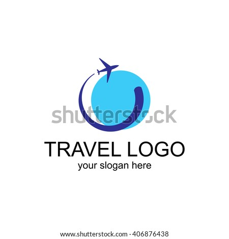 Airplane logo stock photos images pictures shutterstock for Design agency usa