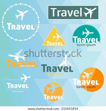 Logo Vector Set Travel's Logo Vector Set