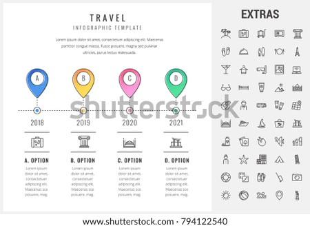 travel timeline template