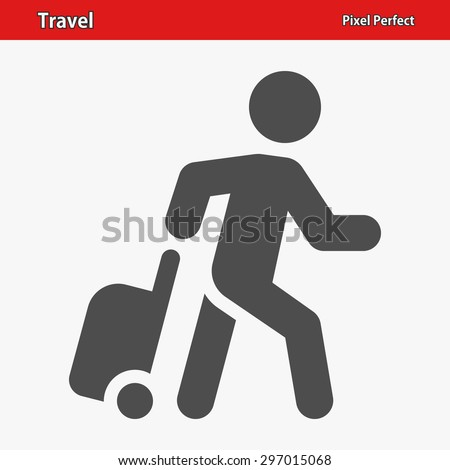 Travel, Tourist Icon. EPS 8 format. - stock vector