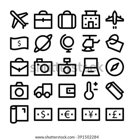 Travel Vector Icon 1 - stock vector