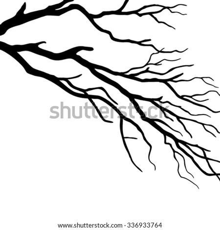 Tree branch - stock vector