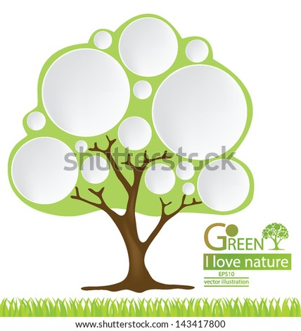 tree chart stock photos  royalty free images  amp  vectors   shutterstocktree  go green  design template  vector illustration