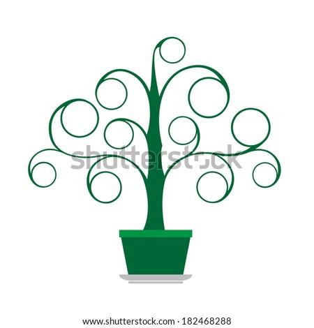 Tree green - stock vector