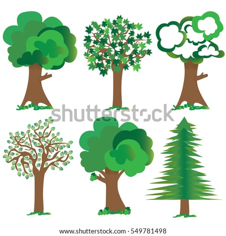tree icon for print