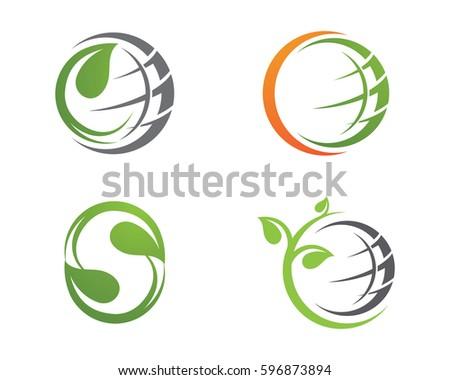 eco friendly logo stock images royalty free images vectors shutterstock. Black Bedroom Furniture Sets. Home Design Ideas