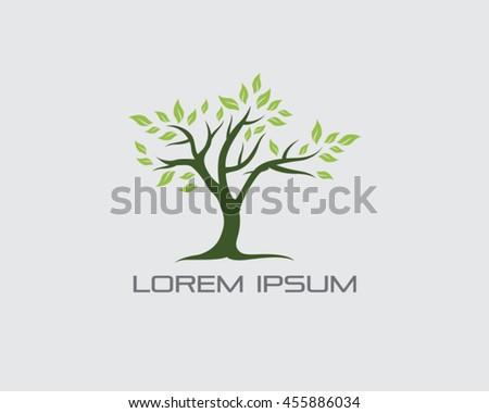 Tree Logo Vector - stock vector