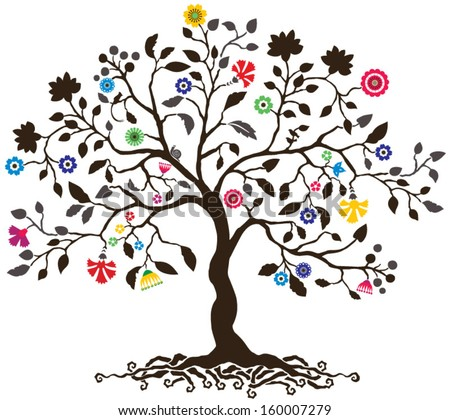 tree life stock vector royalty free 160007279 shutterstock