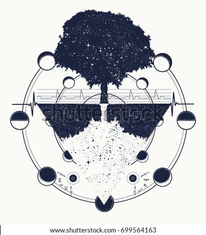 tree life tattoo art future past �������������������� 699564163