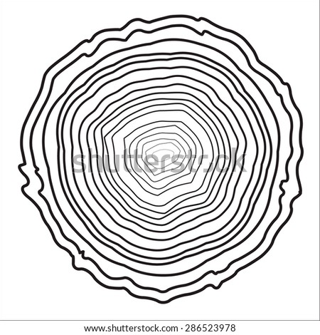 Tree Ring Drawings Tree Rings Background And Saw