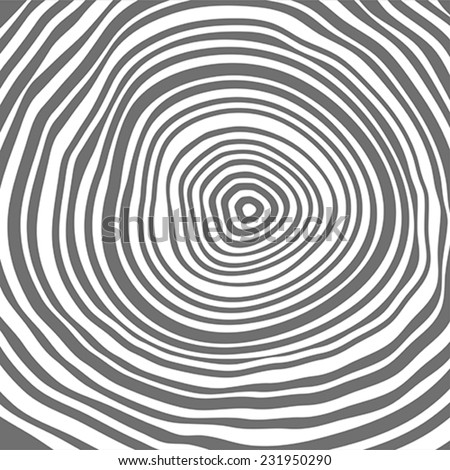 Tree rings background or pattern.  Vector illustration. - stock vector