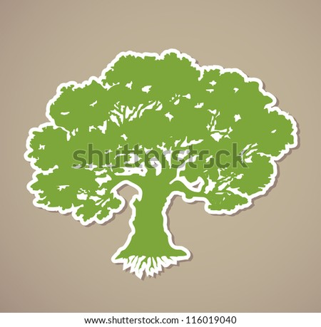 Tree. Vector illustration - stock vector