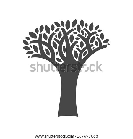 Tree vector illustration - stock vector