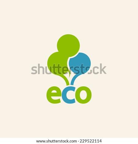 Trees Icon  - stock vector
