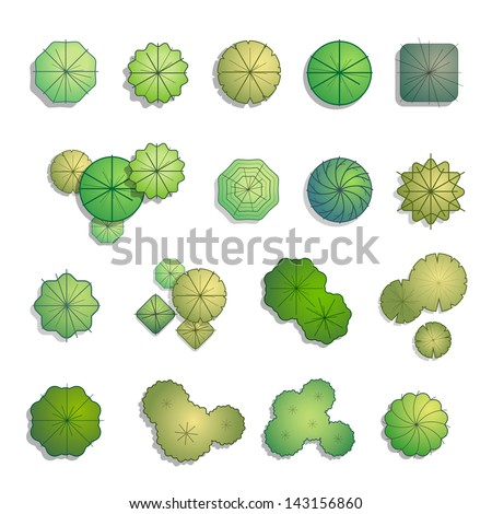 Plan view Stock Images Royalty Free Images Vectors