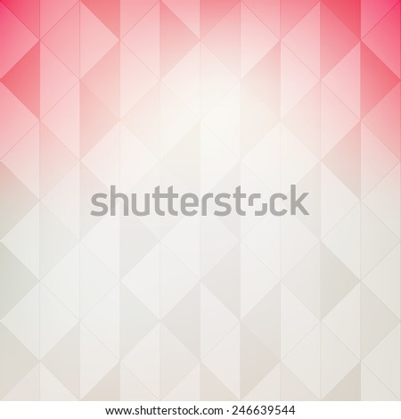 Trendy background in pastel colors. Geometric vector backdrop. Modern stylish texture - stock vector