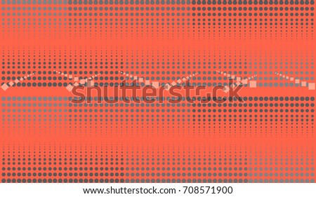 Trendy halftone background with gray circles.
