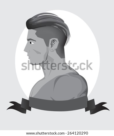 Trendy Hipster Men  - stock vector