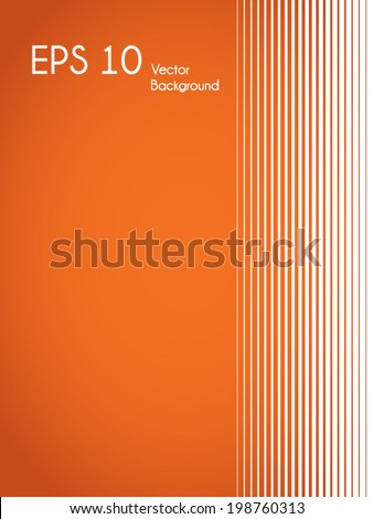 Trendy minimalist vector background