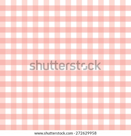 Trendy vichy pattern - seamless background - stock vector