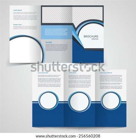 two fold brochure template - two fold stock images royalty free images vectors