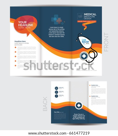 medical brochure tri fold koni polycode co