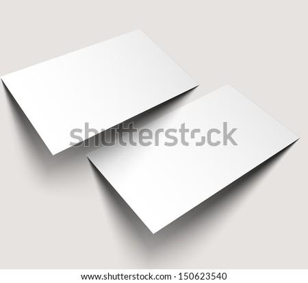 Tri-Fold Mock up & Brochure Design - stock vector