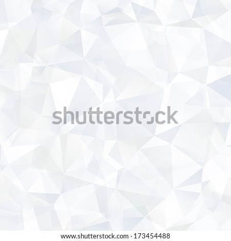Triangle abstract vector background. Neutral background. Template for your design. Vector illustration  - stock vector