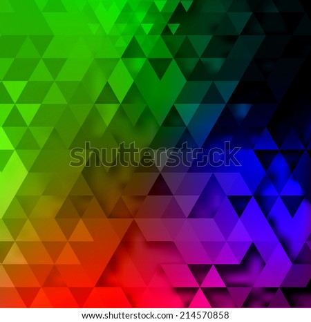 Triangle astract background. Vector illustration for presentation, booklet, website etc.