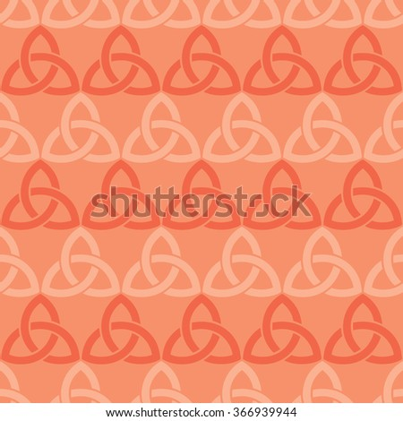Triangle fret lattice pattern seamless vector background tile
