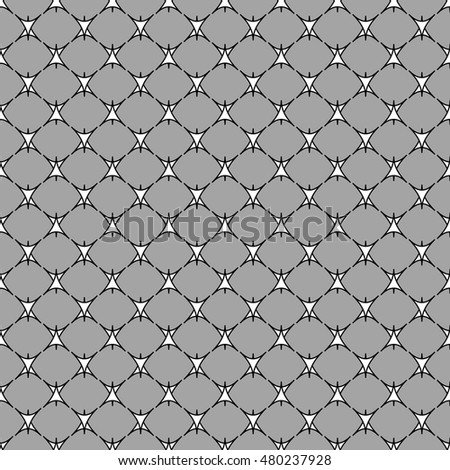 Triangle geometric seamless pattern. Fashion graphic background design. Modern stylish abstract monochrome texture. Template for prints, textiles, wrapping, wallpaper, website Stock VECTOR ilustration